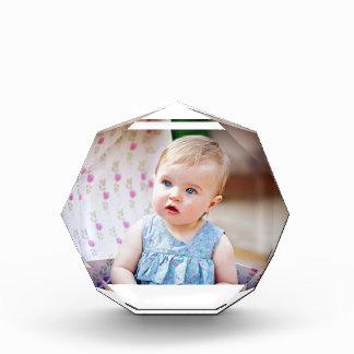 Blue-Eyed Baby Girl Acrylic Award