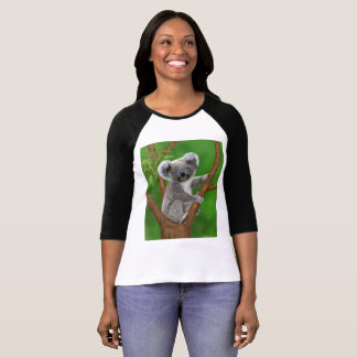 Blue-Eyed Baby Koala Bear T-Shirt