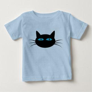 Blue-Eyed Black Cat Baby T-Shirt