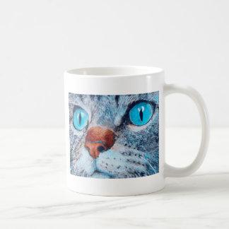 Blue-eyed Cat Coffee Mug