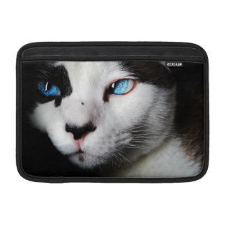 Blue-Eyed Cat Sleeve For MacBook Air