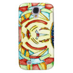 BLUE EYED CAT SAMSUNG GALAXY S4 COVERS