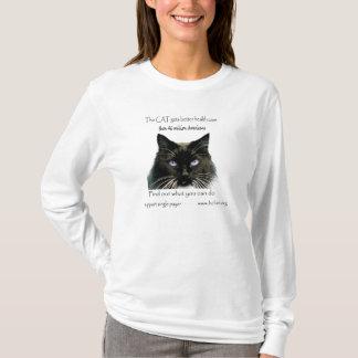 Blue-eyed Cat Sweatshirt