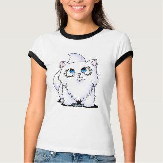Blue Eyed Cutie Face Kitten T-Shirt
