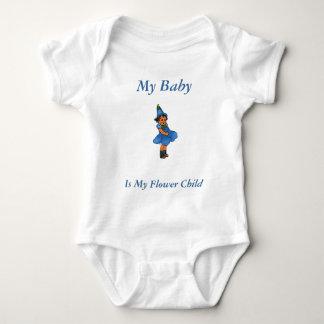 Blue-eyed Flax Baby Bodysuit