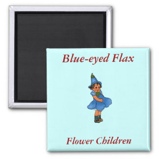Blue-eyed Flax Magnet