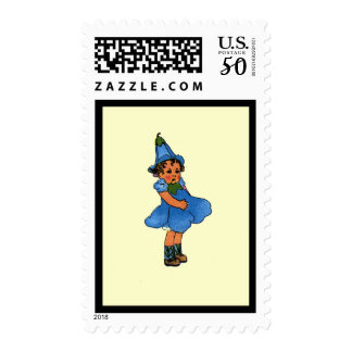 Blue-eyed Flax Postage