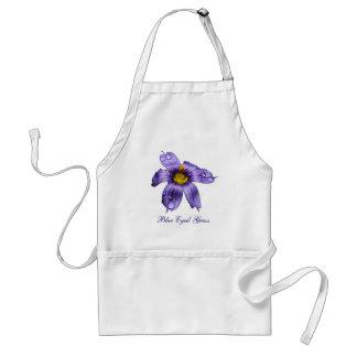 Blue Eyed Grass apron