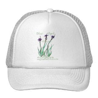 Blue Eyed Grass Trucker Hat