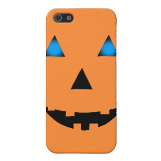 Blue Eyed Jack-O-Lantern iPhone SE/5/5s Cover