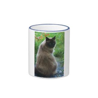 Blue Eyed Kitty Cat Mug