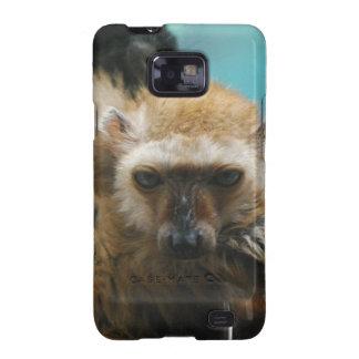 Blue Eyed Lemur Samsung Galaxy Case Galaxy S2 Case