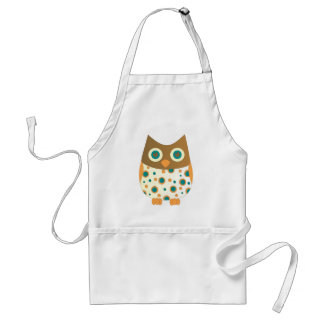 Blue-Eyed Owl Adult Apron