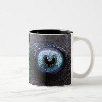 Blue-Eyed Pleco and Panaque cochliodon Two-Tone Coffee Mug