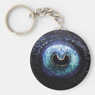 Blue-eyed Pleco Keychain