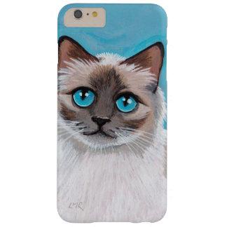 Blue Eyed Ragdoll Cat Portrait iPhone 6 Plus Case