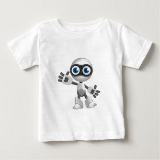 """Blue eyed robot"" Baby T-Shirt"