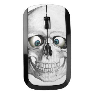 Blue Eyed Skull Wireless Mouse