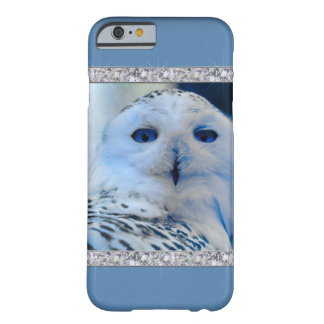 Blue Eyed Snow Owl Barely There iPhone 6 Case