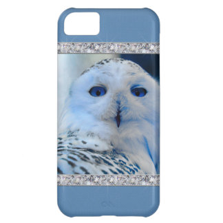 Blue Eyed Snow Owl iPhone 5C Cover