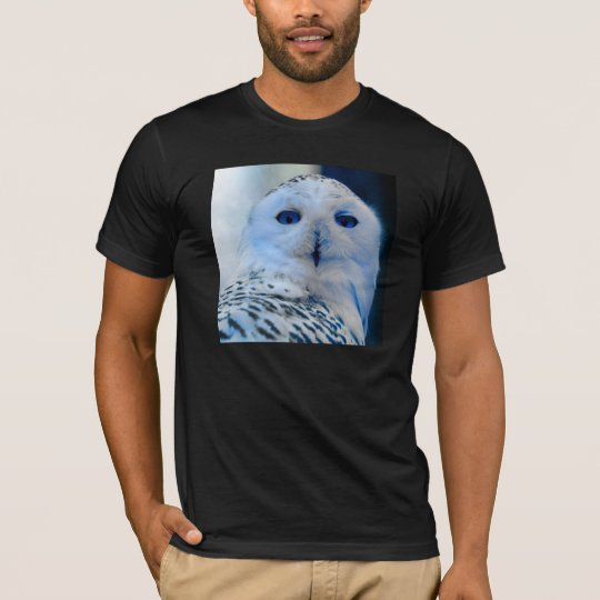 Blue Eyed Snow Owl T-Shirt