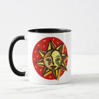 Blue Eyed Sun Mug