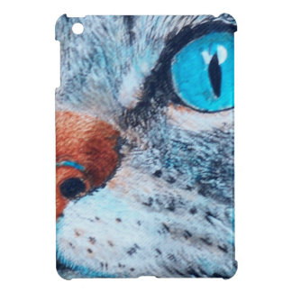 Blue-eyed Tabby Case For The iPad Mini
