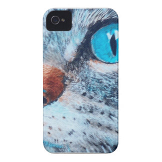 Blue-eyed Tabby iPhone 4 Case-Mate Case