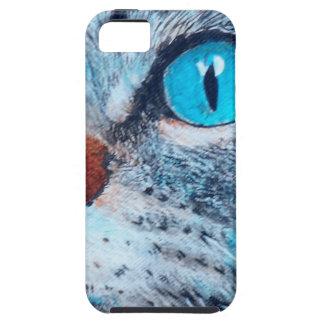 Blue-eyed Tabby iPhone SE/5/5s Case
