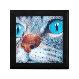 Blue-eyed Tabby Jewelry Box