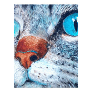 Blue-eyed Tabby Letterhead
