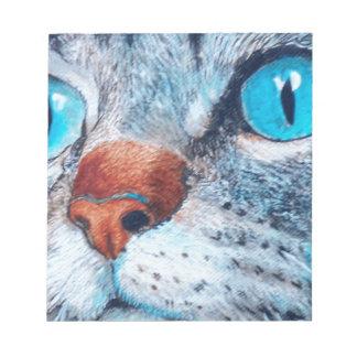 Blue-eyed Tabby Notepad