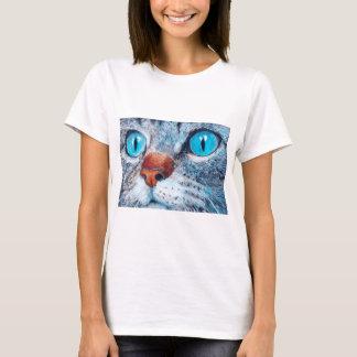 Blue-eyed Tabby T-Shirt