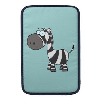 Blue Eyed Zebra MacBook Sleeve