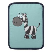 Blue Eyed Zebra Sleeve For iPads