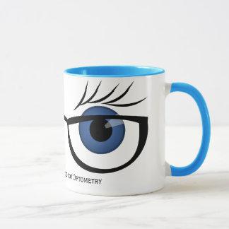 Blue Eyes and Glasses Mug