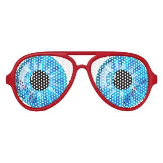 Blue eyes aviator sunglasses
