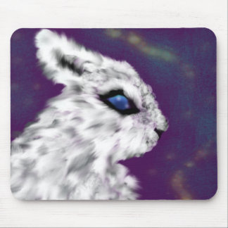 Blue Eyes (bunny) Mouse Pad