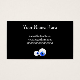 Blue Eyes Business Card