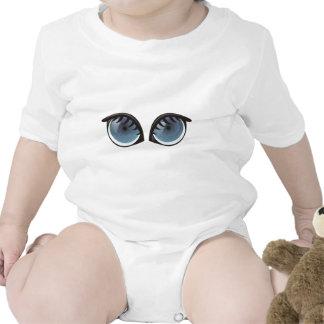 Blue Eyes Cartoon Baby Creeper