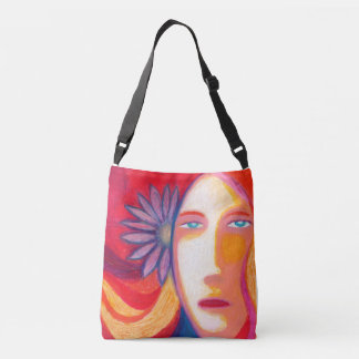 Blue Eyes Crossbody Bag
