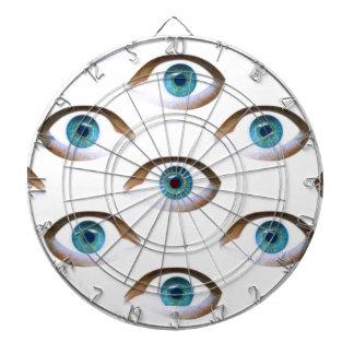 blue eyes dart boards