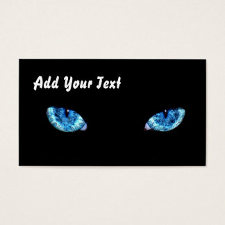 Blue eyes fully customizable business card