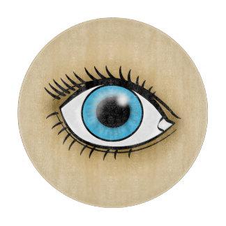 Blue Eyes icon Cutting Board
