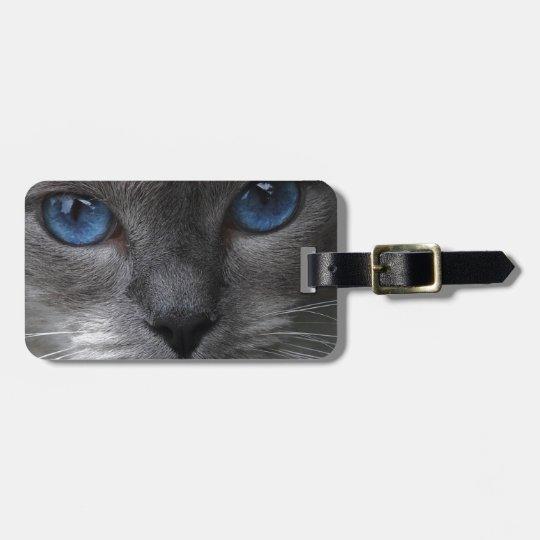 Blue Eyes Luggage Tag