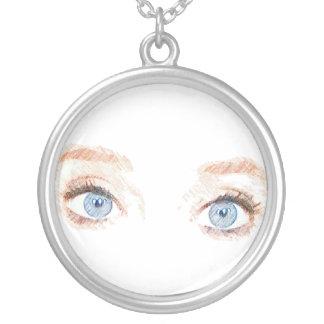 Blue Eyes Necklace