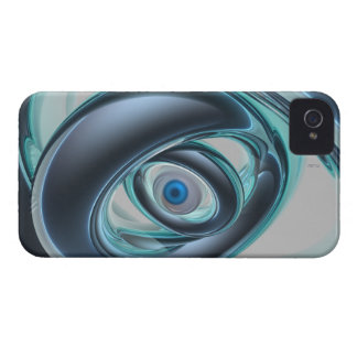 Blue Eyes of A Machine iPhone 4 Covers