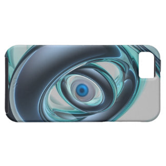 Blue Eyes of A Machine iPhone SE/5/5s Case