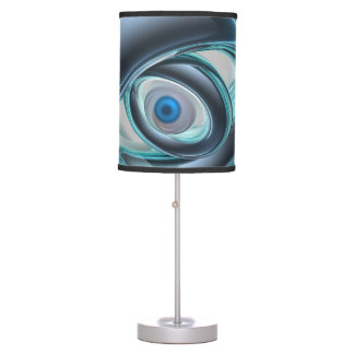 Blue Eyes of A Machine Table Lamp