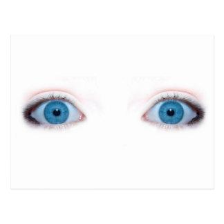 blue eyes post cards